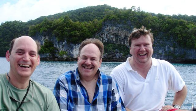 Experts make trip to Rock Islands of Palau on last day before departure