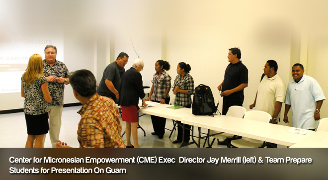 Center for Micronesion Empowerment Exec Director Jay Merrill