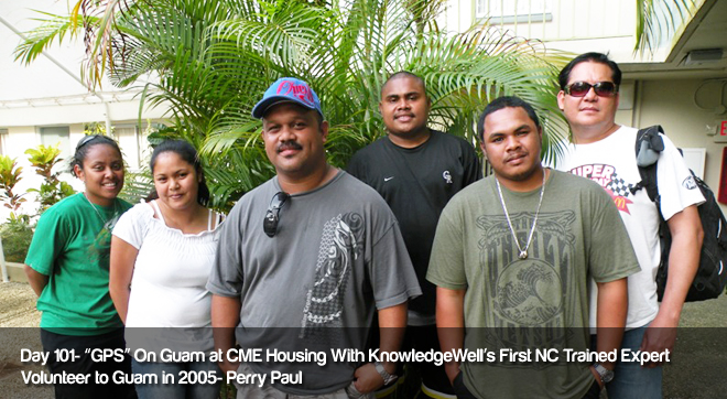 Day 101 - GPS on Guam at CME Housing