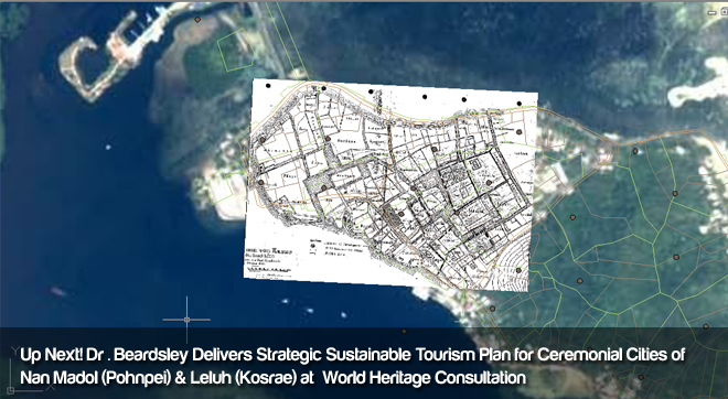 Dr. Beardsely Delivers Strategic Sustainable Tourism PLan