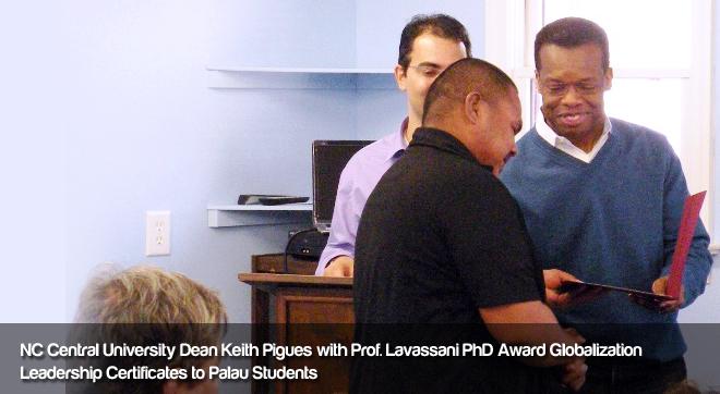 NC Central University Dean Keith Pigues