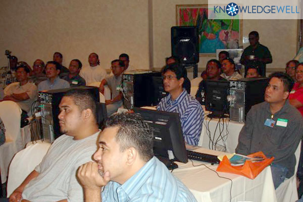 Pacific Professionals Attend KnowledgeWell's First Event in 2005 on Guam