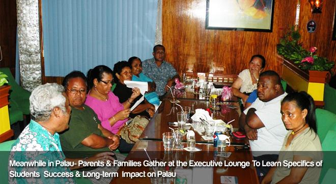 Palau- Parents & Families Gather