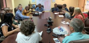 US Doctors and Health Professionals Volunteer in Palau- meet with National Hospital Leadership
