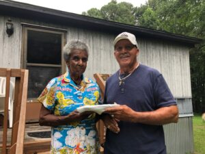 FarmingWell Volunteer Delivers Organic Beef to Elderly in the Triangle area of North Carolina